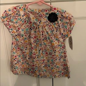 Baby girl carters shirt new with tags 6-9 months